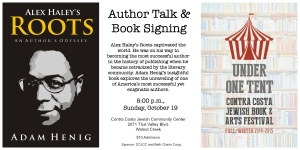 Flyer for Book Signing