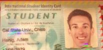 My International Student Card