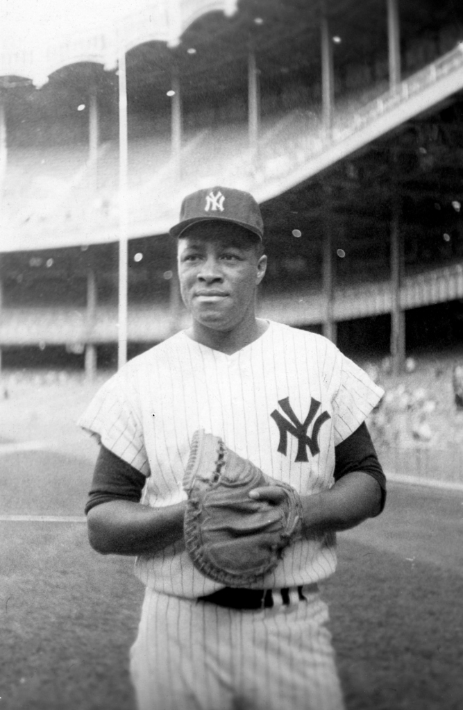 Elston Howard, the first Black Yankee and a symbol of the spring training integration efforts in St. Petersburg, Florida.